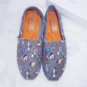 Skechers BOBS Plush Pup Smarts Shoes Flats 7
